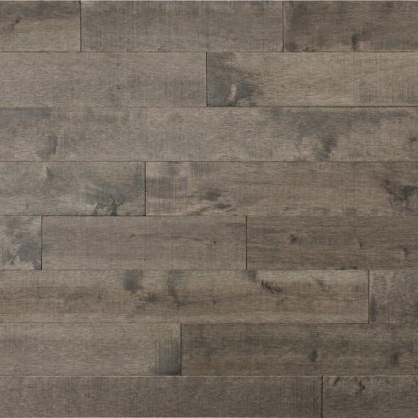 .75 in. x 5 .25 in. Pasque Island Distressed Solid Hardwood Flooring Large Swatch
