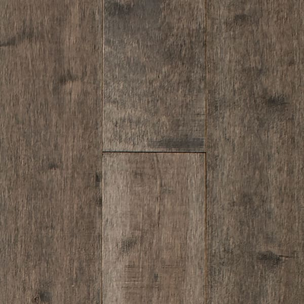 .75 in. x 5 .25 in. Pasque Island Distressed Solid Hardwood Flooring Small Swatch
