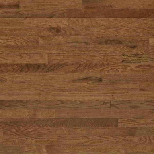 3/4 in. x 2.25 in. Gunstock Oak Solid Hardwood Flooring
