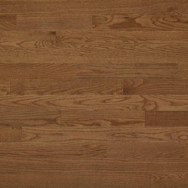 3/4 in. x 3.25 in. Gunstock Oak Solid Hardwood Flooring