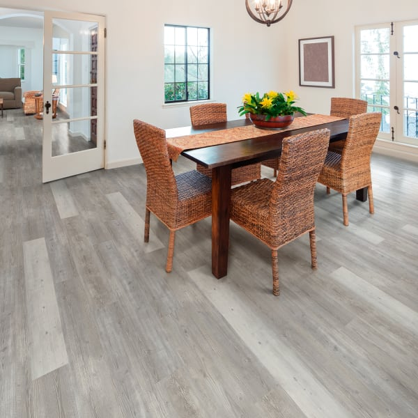 5mm with pad Mont-Blanc Pine Engineered Vinyl Plank Flooring