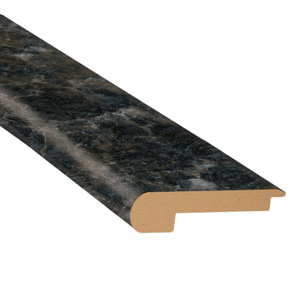 Smokey Quartz Vinyl Waterproof 2.25 in wide x 7.5 ft Length Low Profile Stair Nose