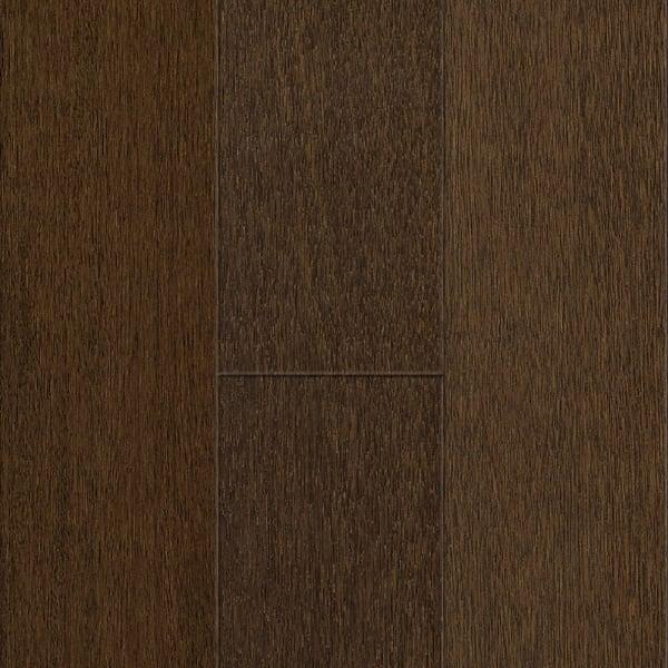 Coffee Brazilian Oak Engineered Hardwood Flooring in Glam Rustic Bedroom Swatch