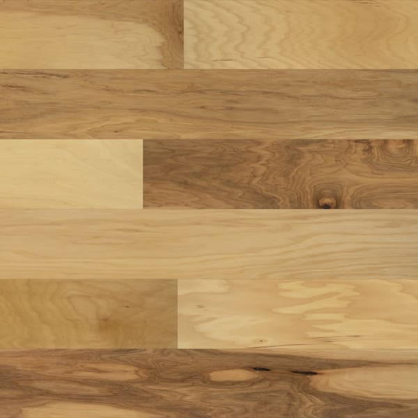 Kennecott Hickory Quick Click Engineered Hardwood Flooring Large Swatch