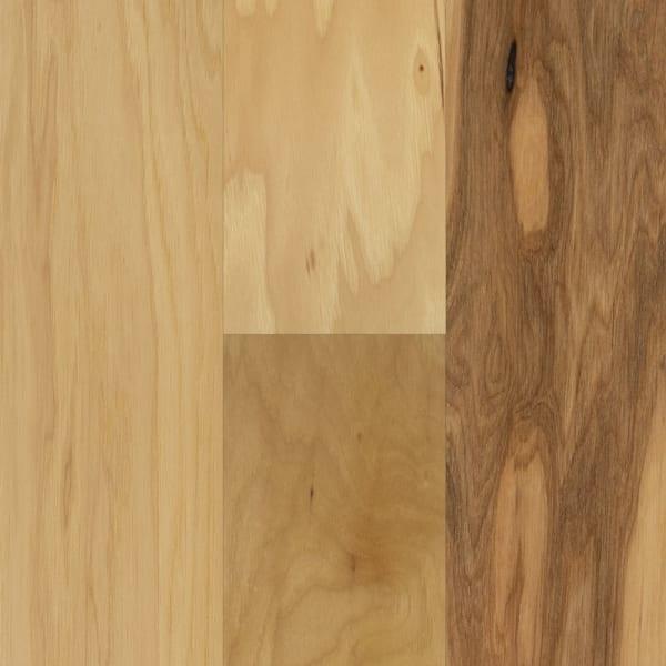 Kennecott Hickory Quick Click Engineered Hardwood Flooring Small Swatch