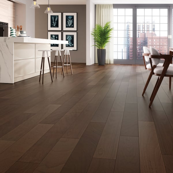 3/8in x 6-.25in Esperanza Brazilian Oak Quick Click Prefinished Engineered Hardwood Flooring