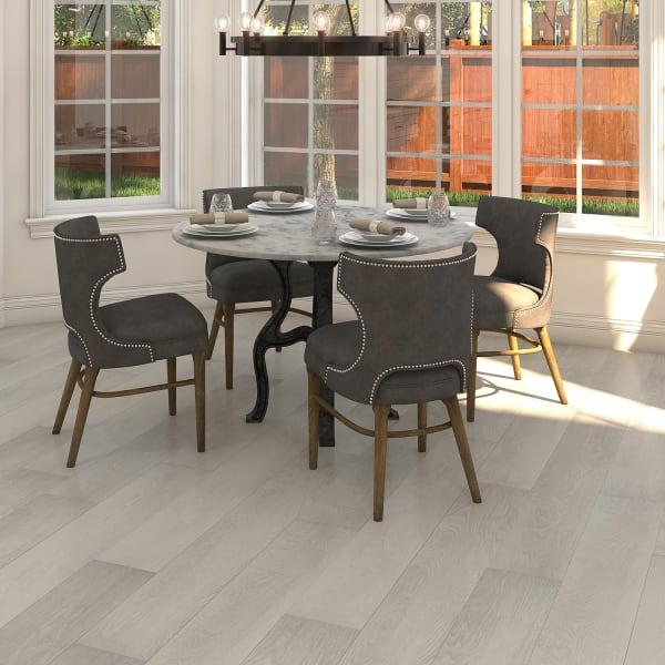 Canyon Peak Oak Laminate Flooring in Dining Room