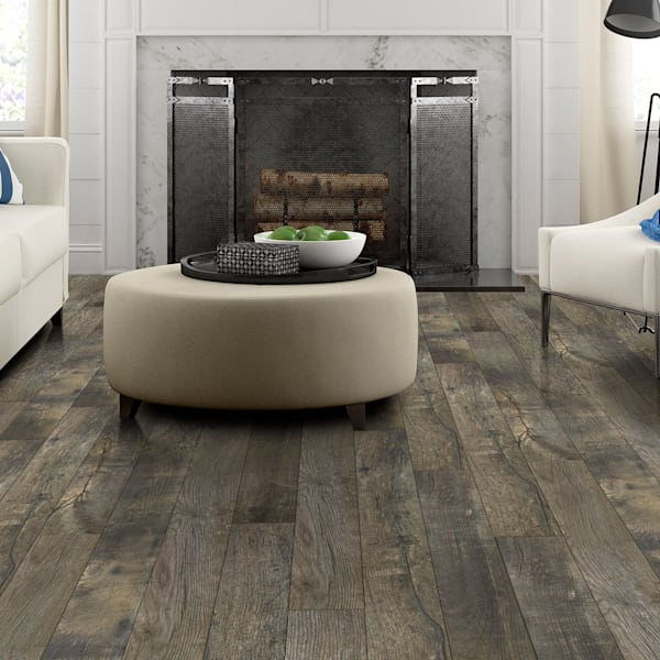 12mm Heirloom Gray Oak Laminate Flooring