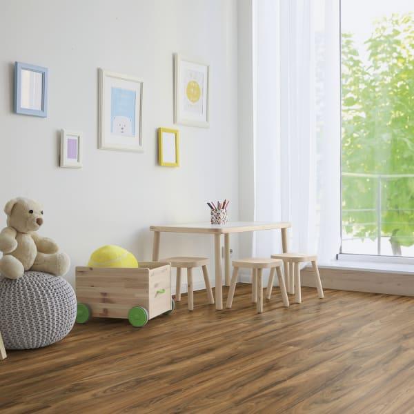 8mm Schooner Birch 24 Hour Water-Resistant Laminate Flooring