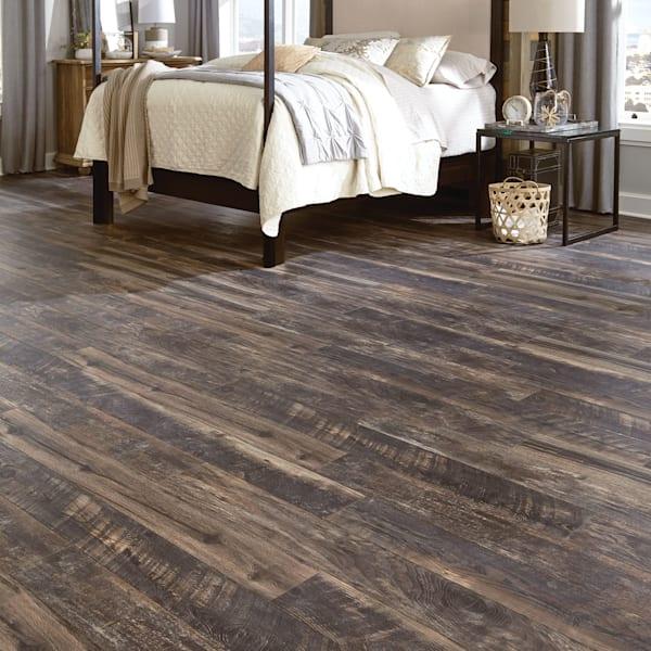 12mm Antique Wood Medley 24 Hour Water-Resistant Laminate Flooring