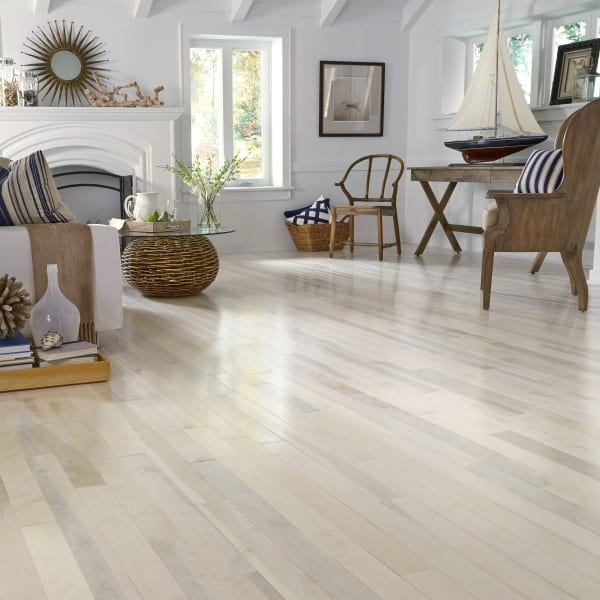 3/4 in. x 3.25 in. Farmhouse White Birch Solid Hardwood Flooring