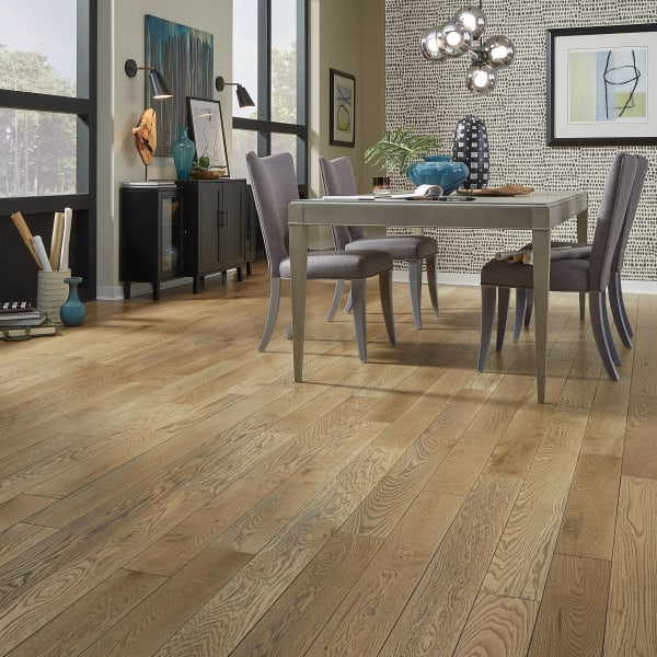 3/4 in. x 5 in. Cheshire Oak Distressed Solid Hardwood Flooring