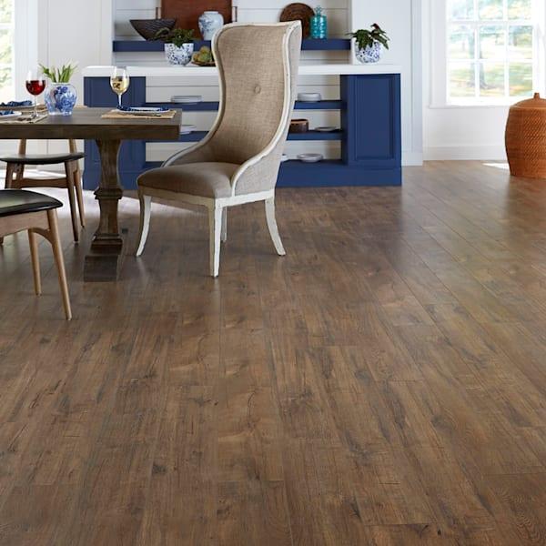 12mm+pad Copper Sands Oak Laminate Flooring