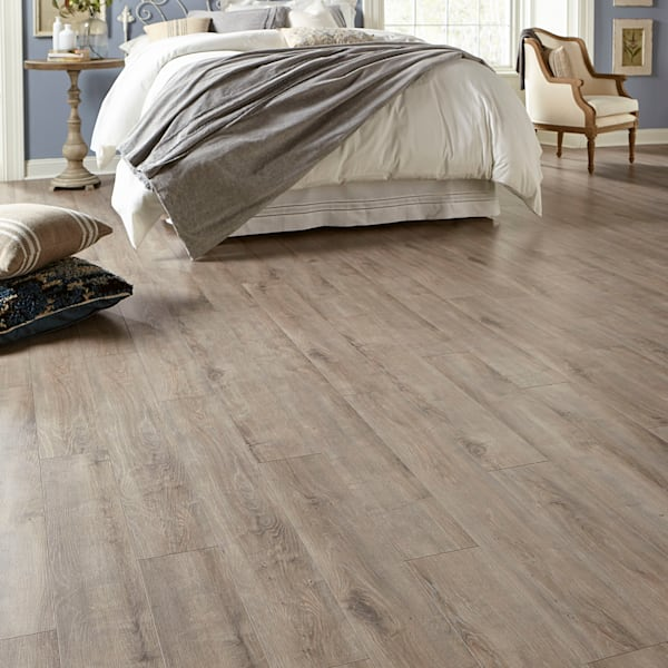 12mm+pad Sandpiper Oak Laminate Flooring