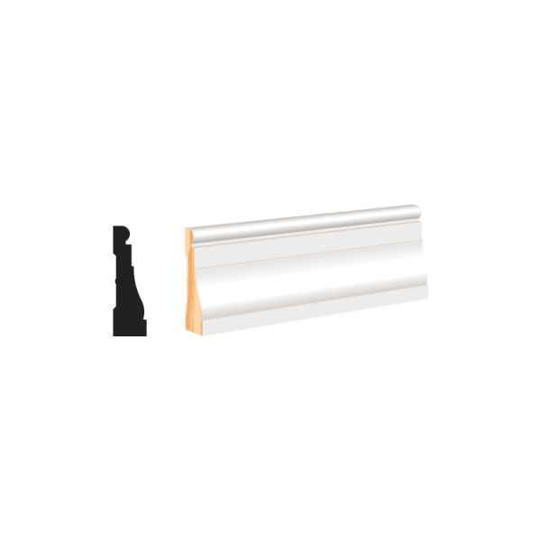"""White Molding and Trim 2-1/4"""" Casing"""