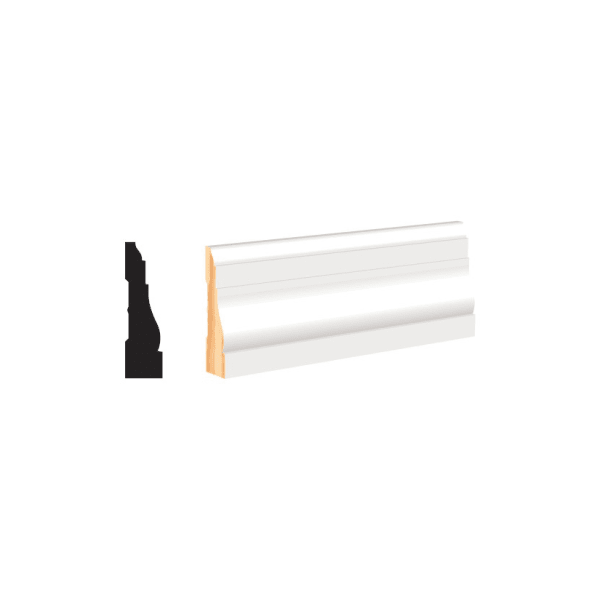 White Molding and Trim - Casing 2-1/2""
