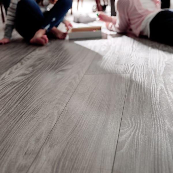 8mm+pad Winterwood Oak Rigid Vinyl Plank Flooring