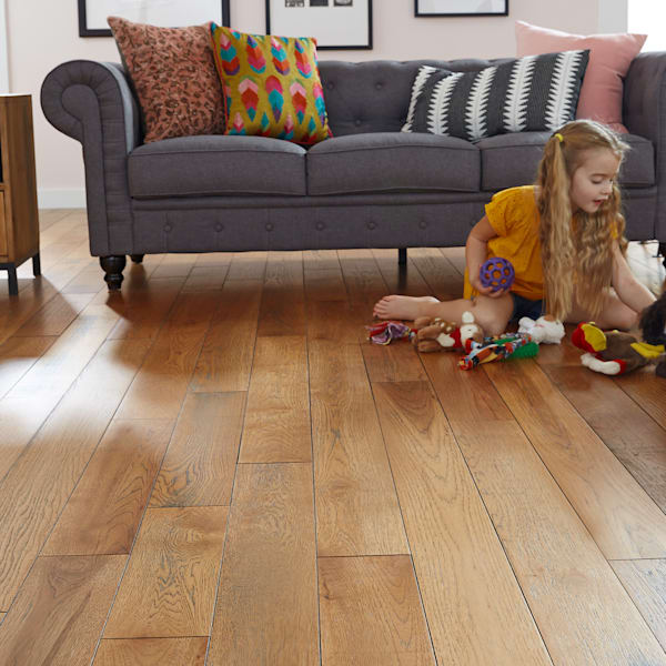 3/4 in. x 5 in. Pepperell Hickory Solid Hardwood Flooring
