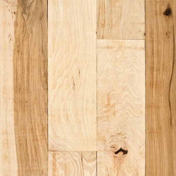 Hickory Unfinished Solid Hardwood Flooring