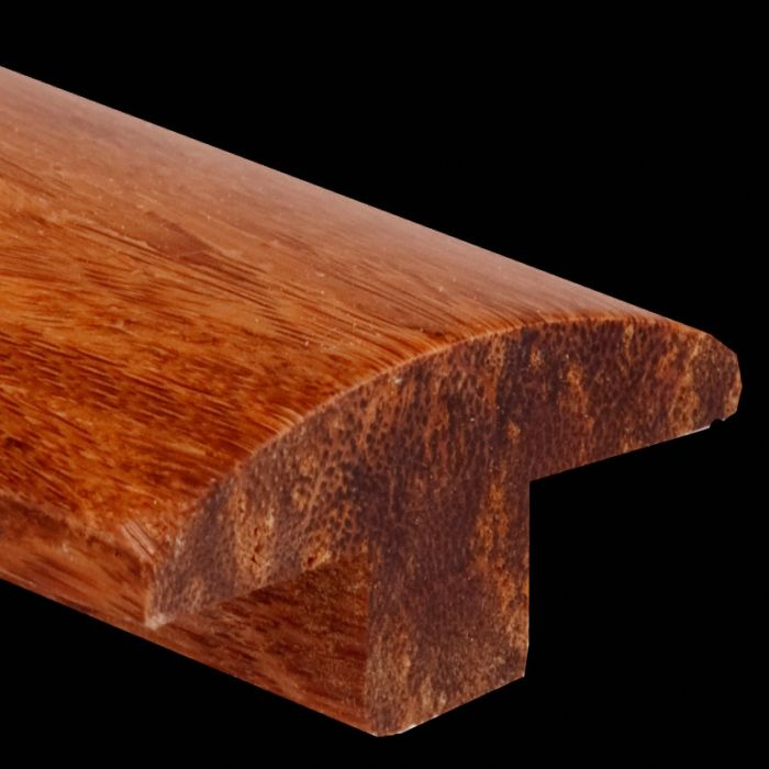 Prefinished Carbonized Strand Bamboo 0 625 In Thick X 1 875 In Wide X 6 Ft Length T Molding Ll Flooring