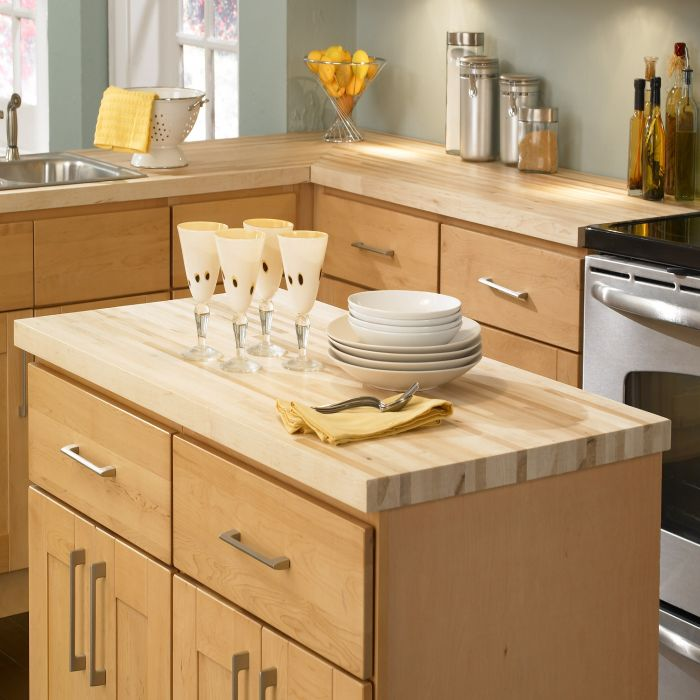 108 x 25 x 1-1//2 Maple Counter Top 1-1//2 Thick